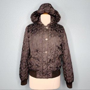 Baby Phat | Embroidered Puffer Coat